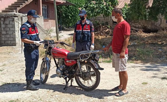 Tarsus'ta Motosiklet Hırsızlığı