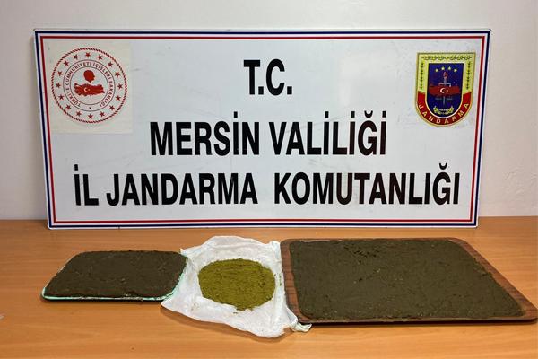 Mersin'de Jandarma Ekipleri 6 Kg Toz Esrar Ele Geçirdi