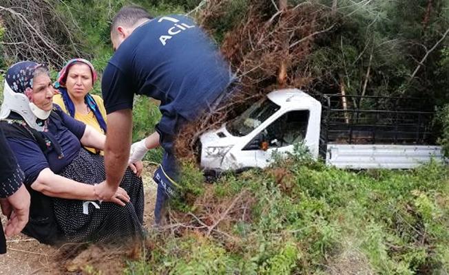 Trafik Kazasında, 3 Kişi Ölümden Döndü