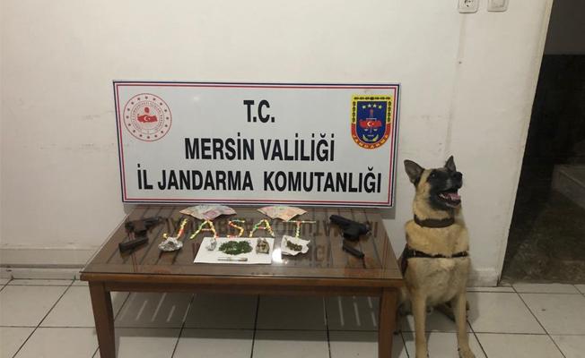 Mersin'de ve Tarsus'ta Uyuşturucu Operasyonu 3 Gözaltı