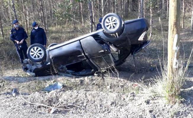 Tarsus'ta Jandarma Aracı Kaza Yaptı
