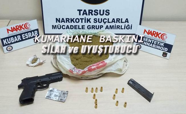 Tarsus'ta Kumarhane Baskını