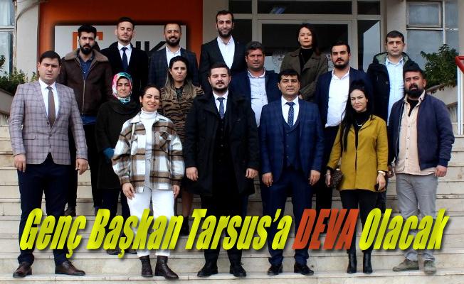Genç Başkan Tarsus'a Deva Olacak