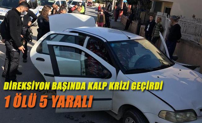 Tarsus'ta Meydana Gelen Trafik Kazasında Sürücü Hayatını Kaybetti