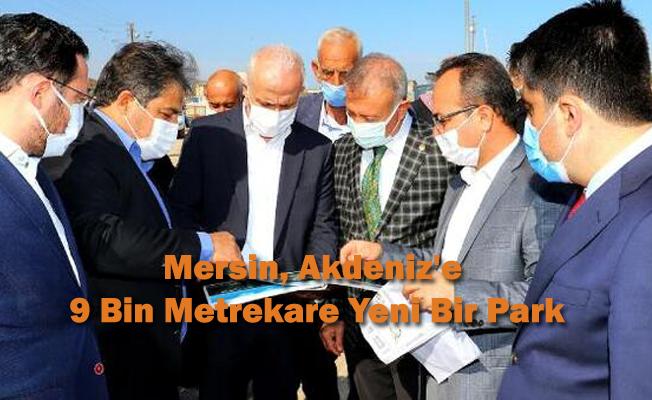 Mersin, Akdeniz'e 9 Bin Metrekare Yeni Bir Park