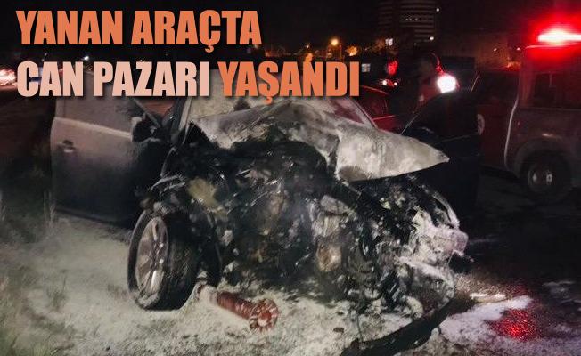 Tarsus'ta, Trafik Kazasında Can Pazarı Yaşandı