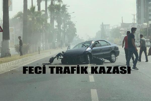 Tarsus'ta Feci Kaza, 1 Yaralı