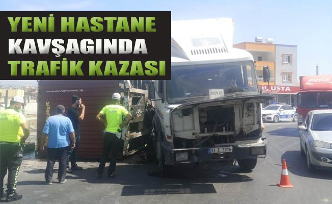 Tarsus Yeni Hastane Kavşağında Trafik Kazası