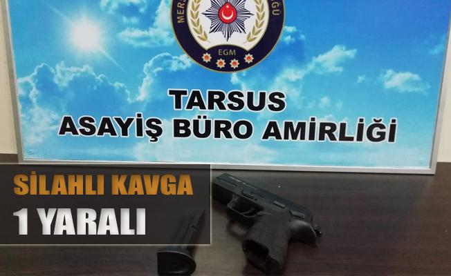 Tarsus'ta Silahlı Kavga, 1 Yaralı