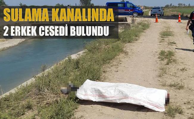 Sulama Kanalında 2 Erkek Cesedi Bulundu