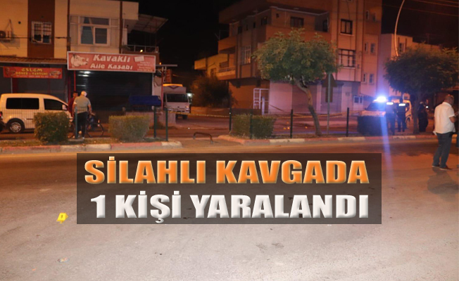 Tarsus'ta, Silahlı Kavgada 1 Kişi Yaralandı