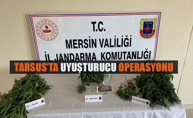 Tarsus'ta Uyuşturucu Operasyonu 2 Gözaltı